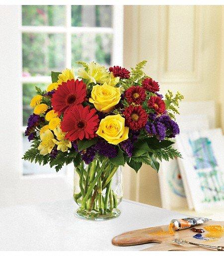 Aaro's Flowers & Tuxedo Rental: 119 North Main St, Farmland, IN