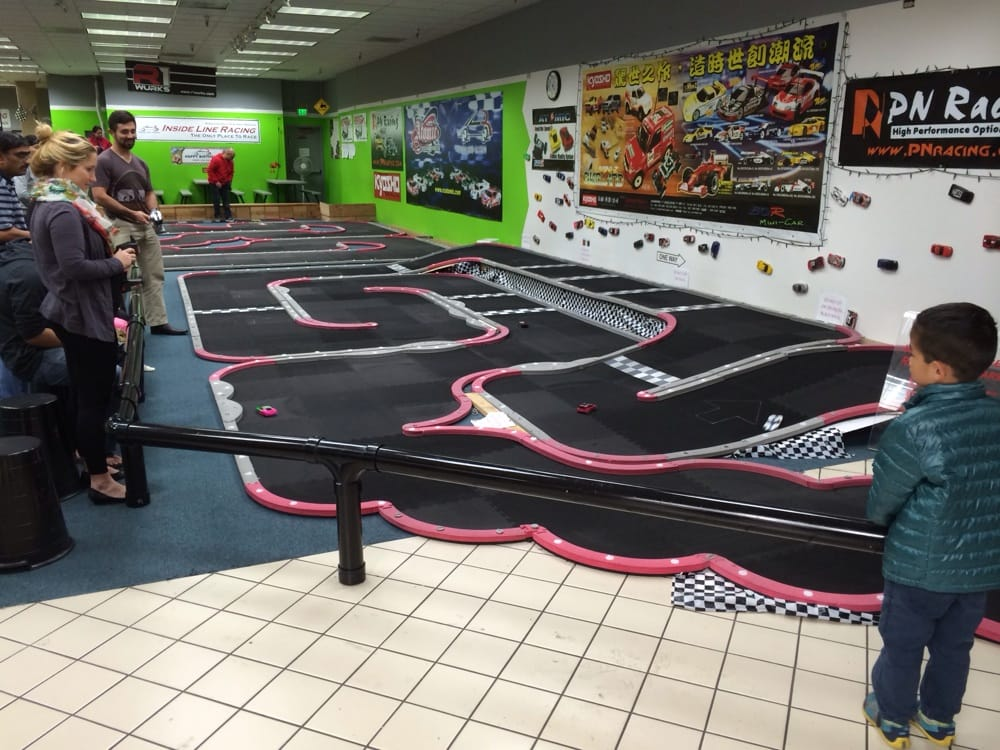 Cool Remote Control Race Cars On Two Tracks Yelp