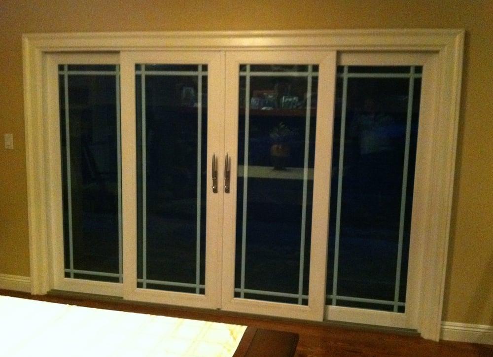 4 panel vinyl french door yelp for Vinyl french doors