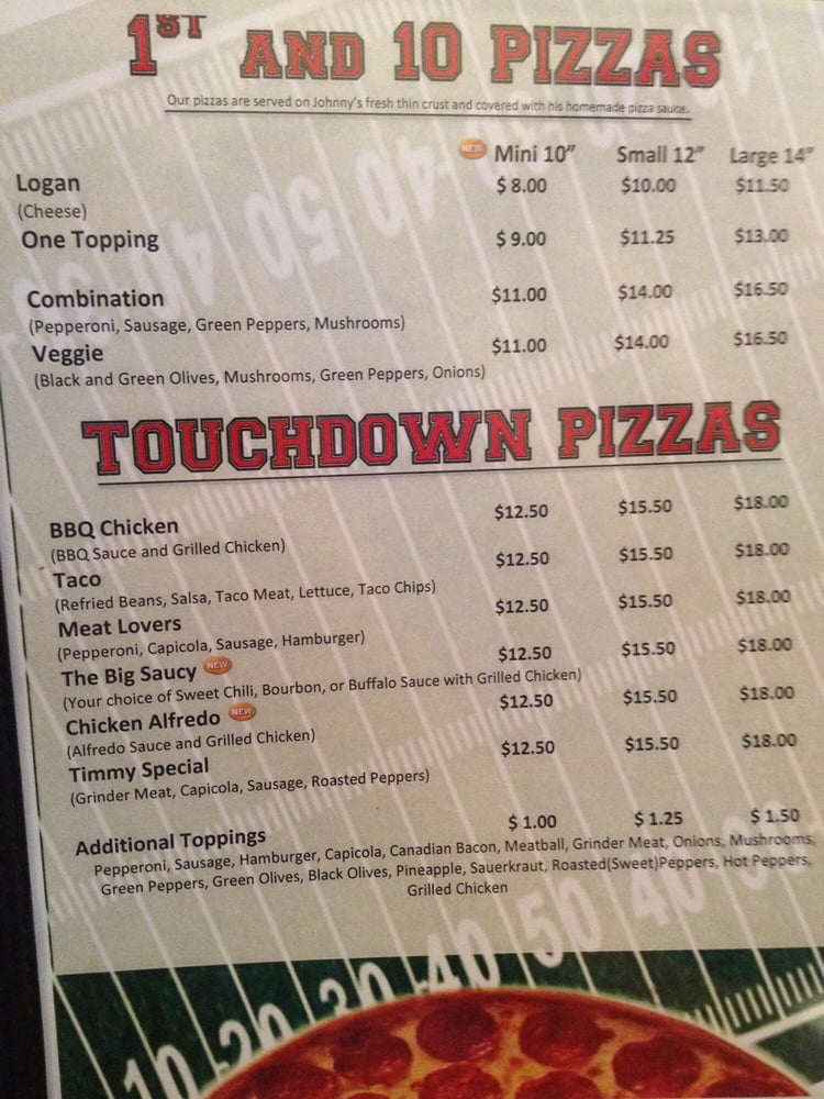 Johnny & Mike's Pizza: 130 S 1st St, Carlisle, IA