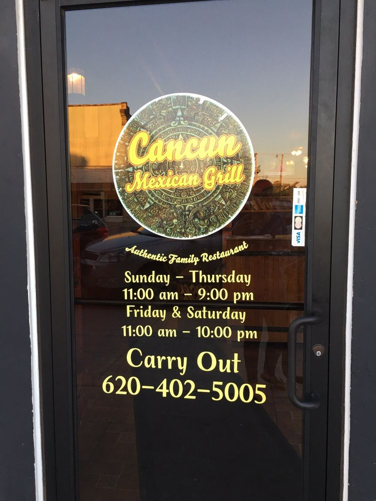 Cancun Mexican Grill: 711 Main St, Winfield, KS
