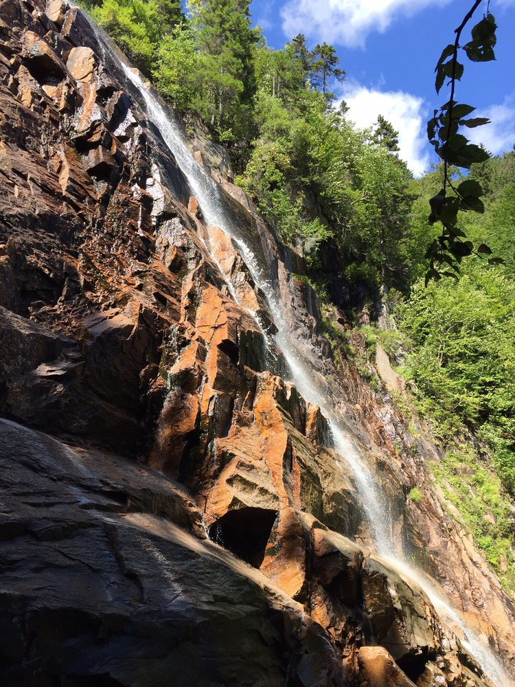 Arethusa falls: White Mountain National Forest, Hart's Location, NH