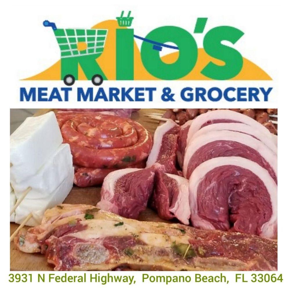 Rio's Meat Market: 3931 N Federal Hwy, Pompano Beach, FL