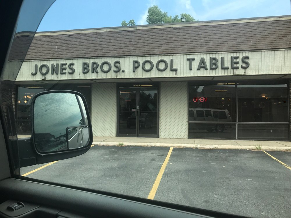 Jones Brothers Pool Tables: 309 W Broadway St, North Little Rock, AR