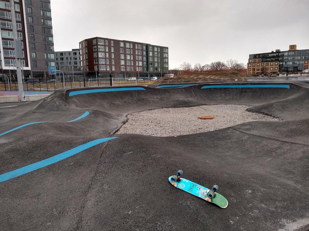 Smith Park Pumptrack: 235 Western Ave, Boston, MA