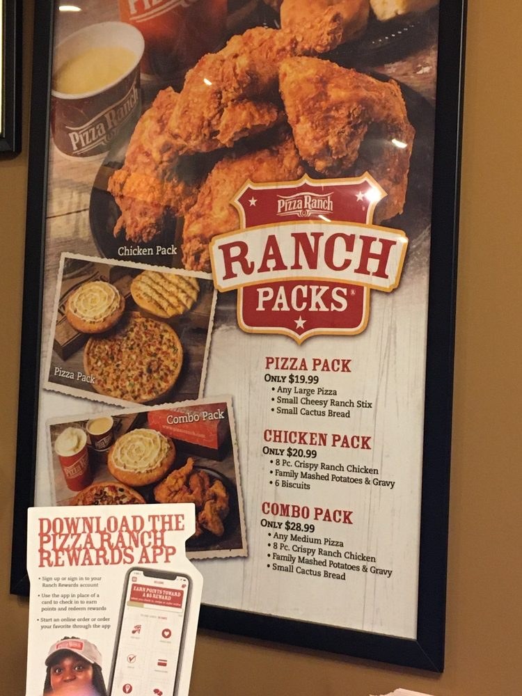 Pizza Ranch: 708 N Grand Ave, Mount Pleasant, IA