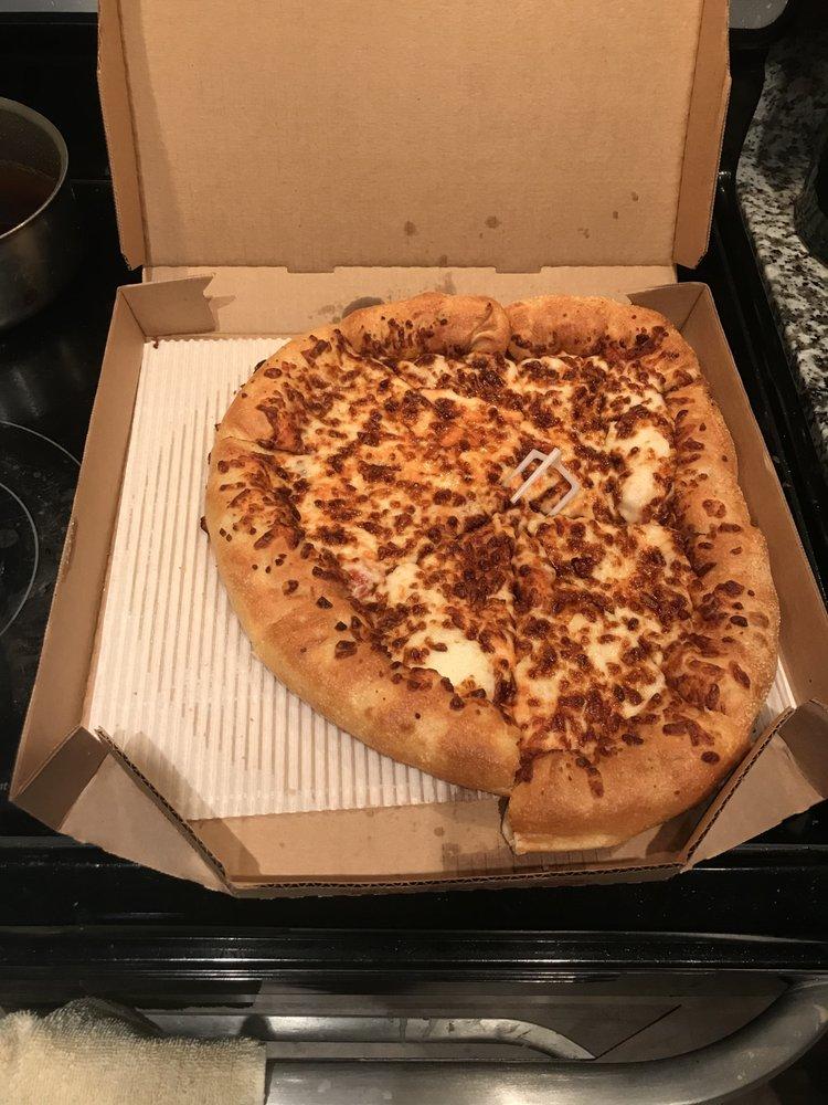 Hut driver Pizza delivery