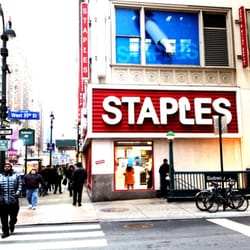 photo of staples new york ny united states