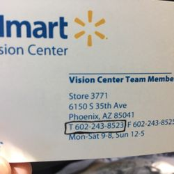 Walmart vision glasses eyewear opticians 6150 s 35th ave photo of walmart vision glasses phoenix az united states walmart business colourmoves