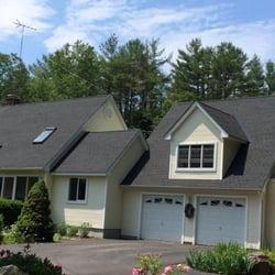 Photo Of New Heights Roofing   Manchester, NH, United States. GAF Charcoal  Black