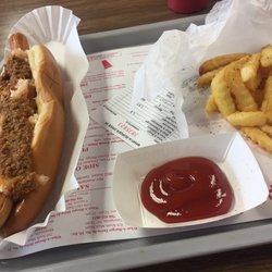 photo of what a burger mooresville nc united states footlong