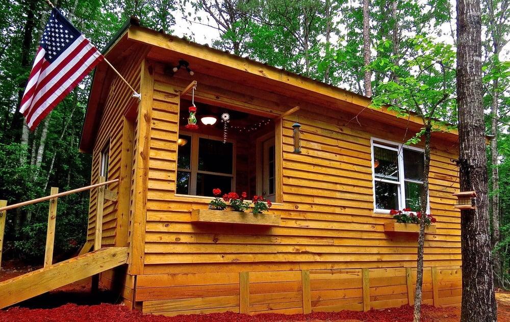 Cabin in the woods riddle 1000 images about trapper s cabins on to be cabin in the woods - The recreational vehicle turned cabin in the woods ...