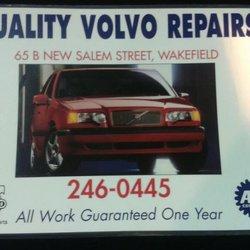 Quality Volvo Repairs Auto Repair 65 New Salem St Wakefield Ma