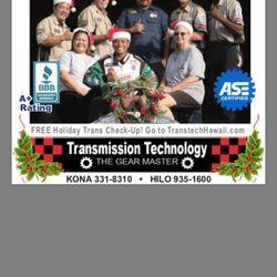 Photo Of Transmission Technology Kailua Kona Hi United States Crew