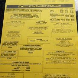 Photos For Tamale Kitchen Menu Yelp