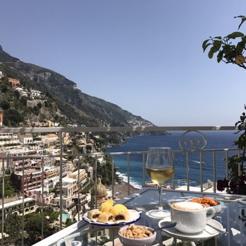 Photo Of Hotel Poseidon Positano Rno Italy Breakfast With A View