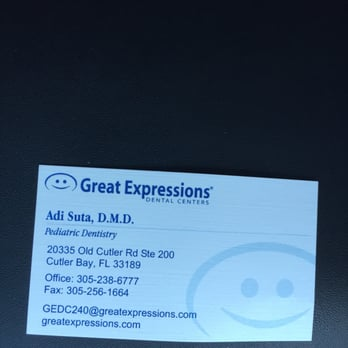 Great Expressions Dental Centers Cutler 16 Reviews