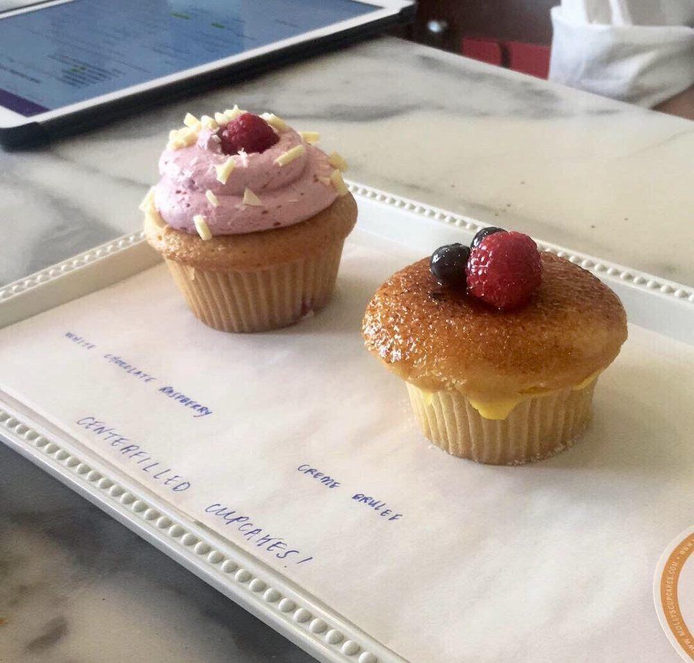 Cupcake tasting for a wedding order. Fantastic! - Yelp