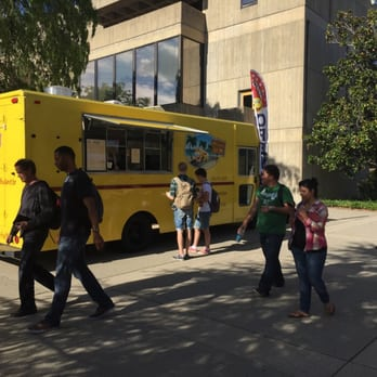 Yellow Lunch Box Food Truck Redding Ca