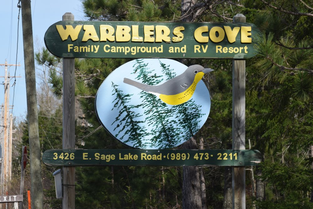 Warblers Cove Family Campground and RV Resort: 3426 E Sage Lake Rd, Lupton, MI