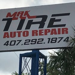 Mak Tire And Auto Tires 3136 West Colonial Dr John Young