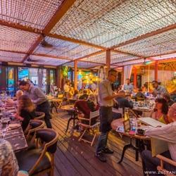 Photo Of Lique Miami North Beach Fl United States Chic Waterfront Terrace Dining
