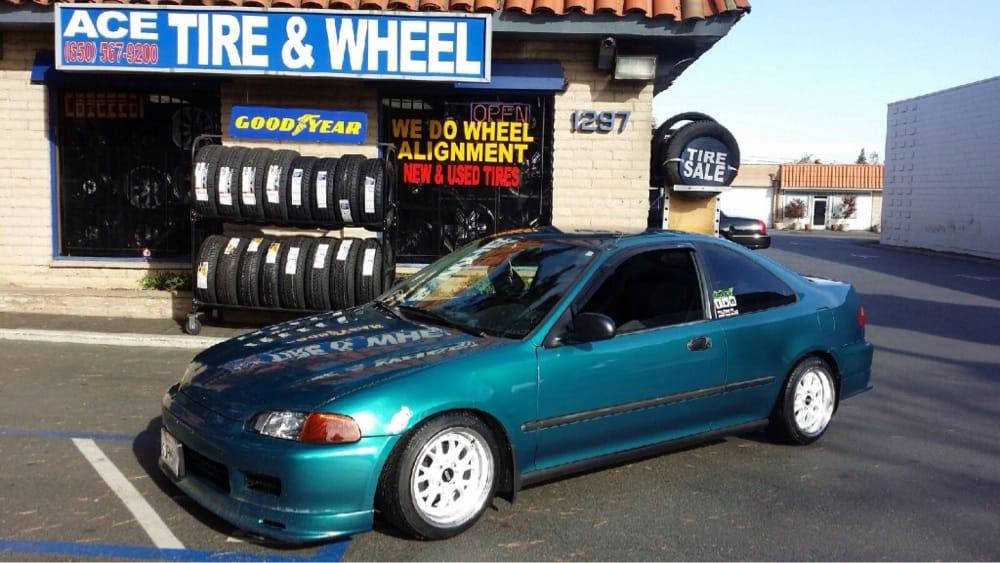 15str 504 White Honda Civic Jdm Style Lower Car At Ace Tire Yelp