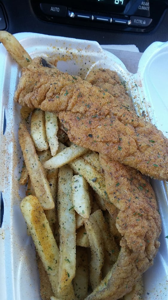 Death by over seasoning not bring fresh r i p fish for Oak city fish and chips
