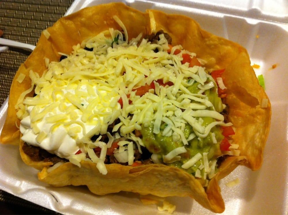 Photo of Tacos Jalisco - Vallejo, CA, United States. Steak Taco Salad