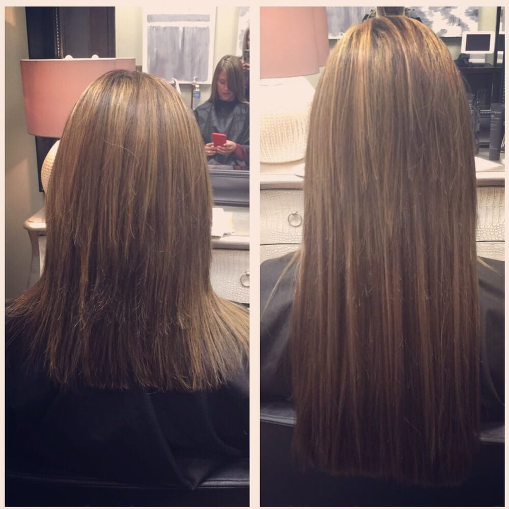 Before And After Color And Babe Hair Extensions Yelp