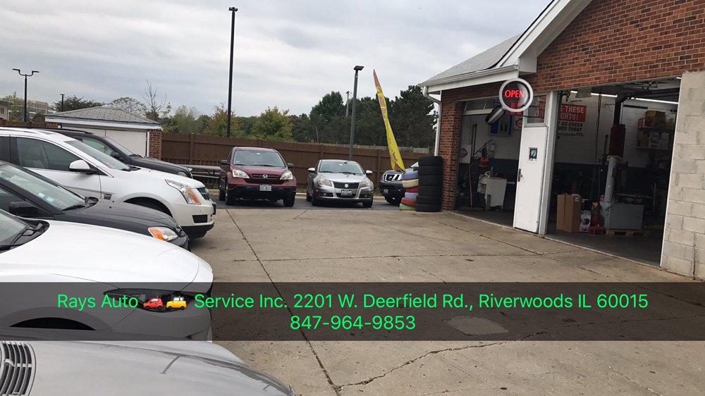 Ray's Auto Service: 2201 W Deerfield Rd, Riverwoods, IL