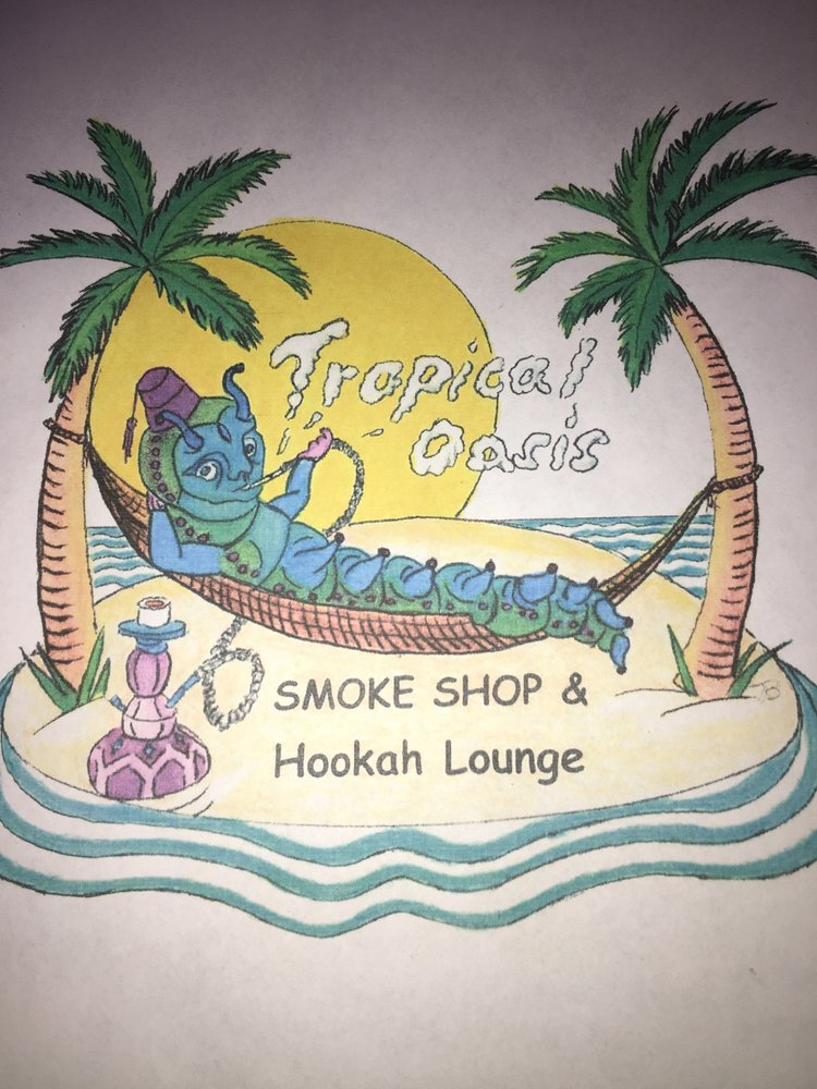 Tropical Oasis Smoke Shop & Hookah Lounge: 122 Front St, Marietta, OH