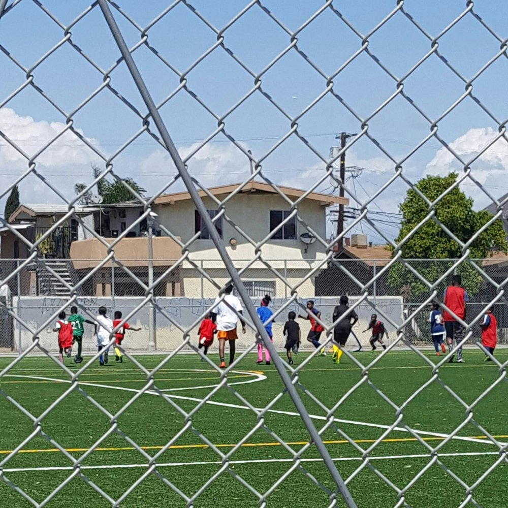 Dangriga Youth Football Academy: Los Angeles, CA