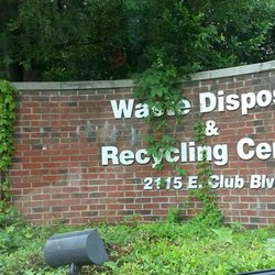 Waste Disposal Recycling Center Recycling Center 2115 E Club