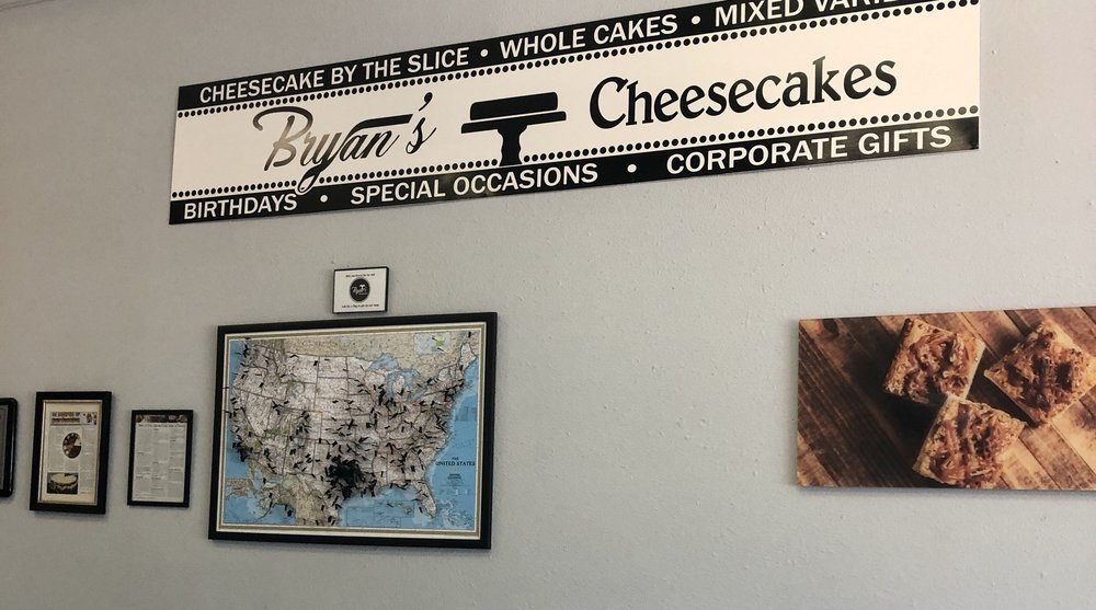 Bryan's Cheesecakes: 120 N Johnson St, Mineola, TX