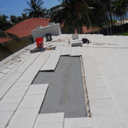 Photo Of Innovative Roofing Pompano Beach Fl United States Tile Roof Repair