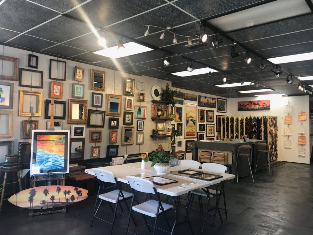 Frame & Art Dept: 950 Aviation Blvd, Hermosa Beach, CA