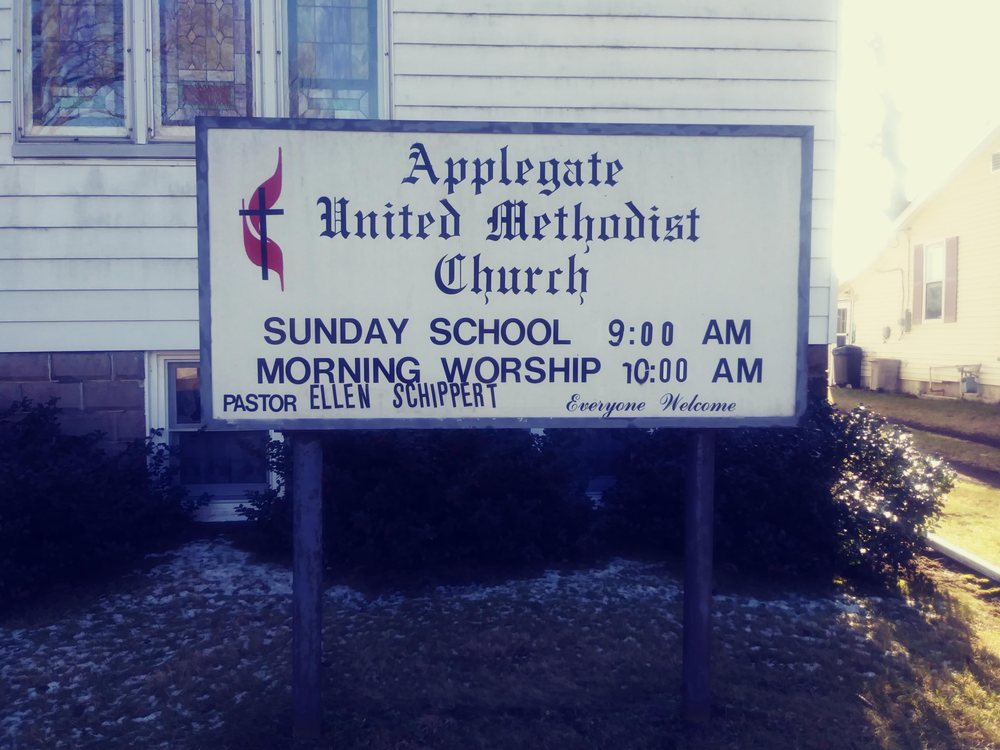 Applegate United Methodist Church: 4792 Church St, Applegate, MI