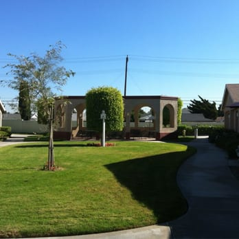 photo of valley view gardens garden grove ca united states back courtyard - Garden Grove Nursing Home
