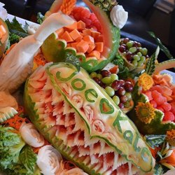 Majic cooking & fruit carving request a quote caterers redwood