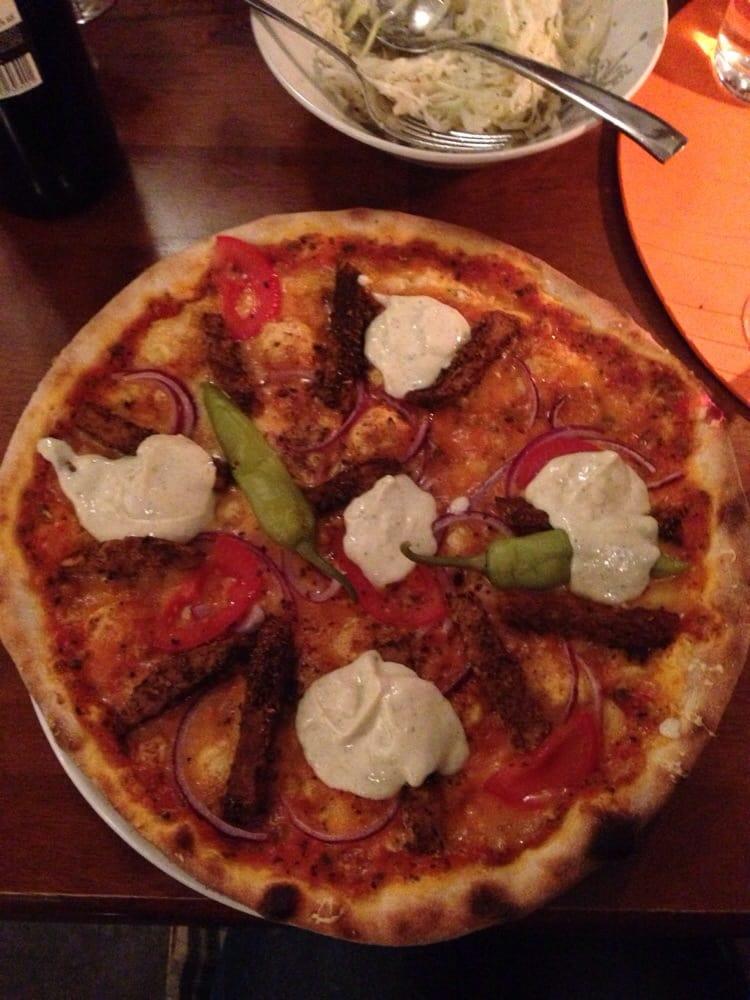 vegan pizza stockholm