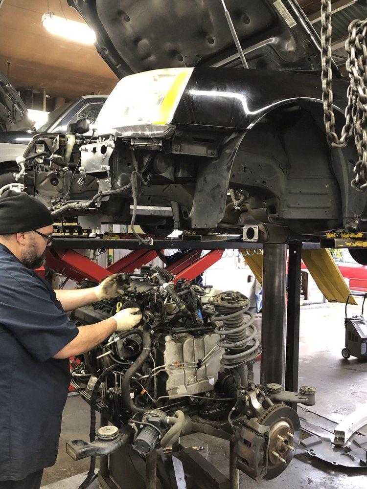 Oil Leak Repair >> Engine Removal To Repair Oil Leak At Rear Main Seal Yelp