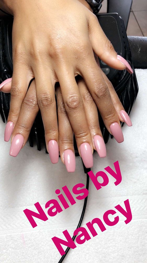 Coffin shaped gel nails - Yelp