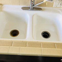 Photo Of Charlies Bathtub Refinish   Los Angeles, CA, United States.  Kitchen Sink