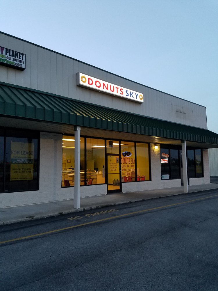 Donut Sky: 6470 N Old Preston Hwy, Hillview, KY