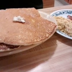 Photo Of Cody S Cafe Swanton Vt United States Pancake Breakfast With Eggs