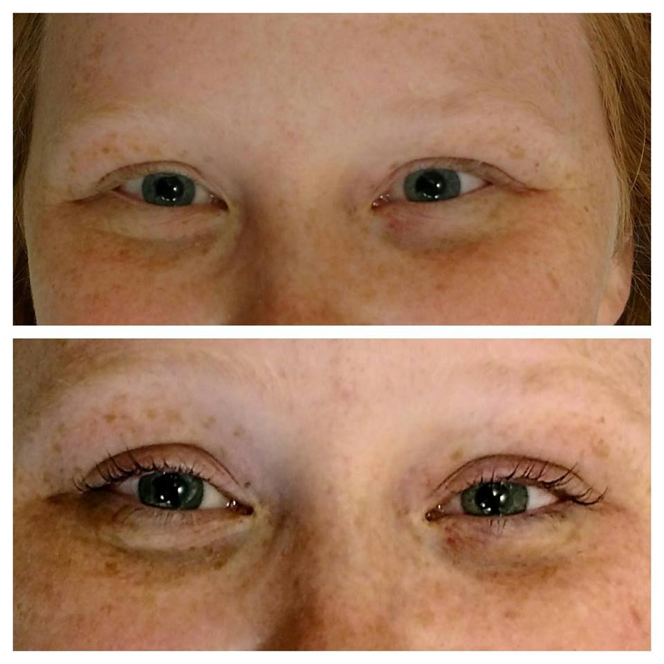Lash Tint And Perm Before And After Yelp