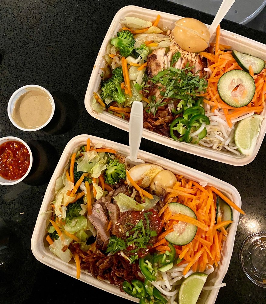 Food from Asian Box