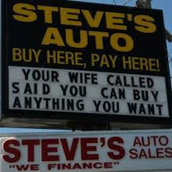 Steves Auto Sales >> Steve S Auto Sales Request A Quote Car Dealers 3469 N Military