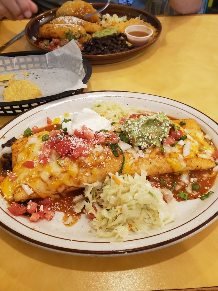 Food from Azteca Family Mexican Restaurant